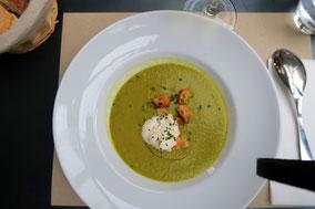 Bild: Veloute de Courgettes au colomba, Chez Serge, Carpentras