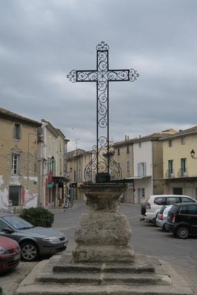 Bild: Kreuz in Le Thor