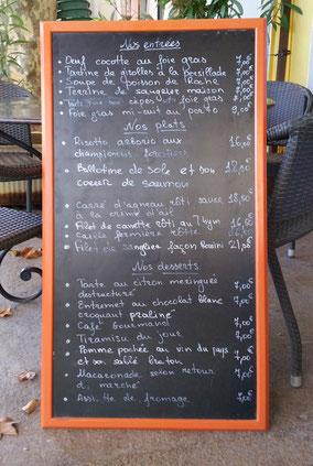 Bild: Restaurant L´Etang, Cucuron