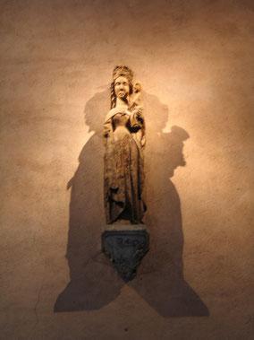 Bild: Madonna in der Kirche von Pérouget