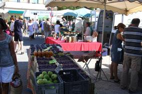 Bild: Markt in Coustellet