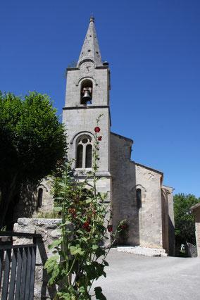 Bild: Kirche von Monieux