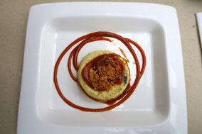 Bild: Creme caramel, Chez Serge, Carpentras