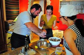 Кулинарный мастер-класс и ужин из четырех блюд в настоящей сицилийской семье