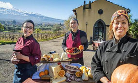 Sicilian Countryside Tour + Lunch at Farmhouse