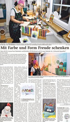Zeitungsbericht BRV Zeitung von Thomas Schmidt Dezember 2020