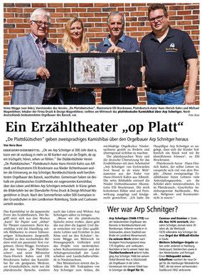 Zeitungsbericht BZ Juli 2019