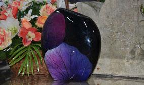 urne-cineraire-feuille-violette-fait-main-crematorium-orange