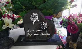 gravure-sablage-tete-aigle-perosnnalisee-plaque-funeraire