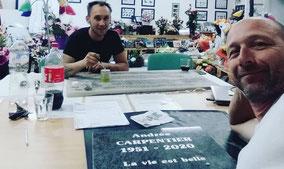 sablage-plaque-funeraire-personnalisation-gravure-peinture-rechampissage