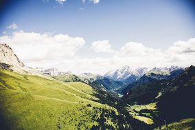 Unser schöner Zeltplatz für Zeltlager mitten in den Kitzbühler Alpen mit Blick auf das Kitzbühler Horn