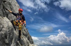 Spaß beim Bergwandern mit Kindern in Kitzbühel