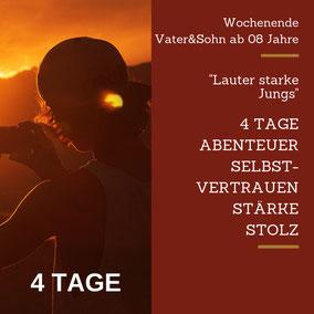 Urlaub Vater Sohn Wochenende Tirol Kitzbühel  Weg Spannung Beziehung Challenge Action Vertrauen Vater Sohn Männers