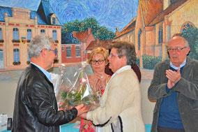 Mireille Boyart, membre depuis de nombreuses années du CCAS