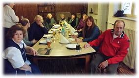 Kegeln und Raclette am 22.03.2015
