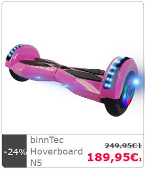 Hoverboard binnTec N1 N 1 schwarz kaufen Qualität deutscher Hersteller