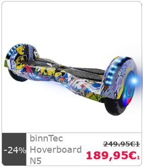 Hoverboard binnTec N1 weiß kaufen TOP Qualität