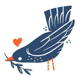 TATUIU, Temporary Klebetattoo, Birdy 2