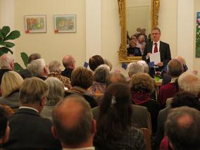 Michael Gahler (MdEP) spricht bei der Europapreisverleihung 2013