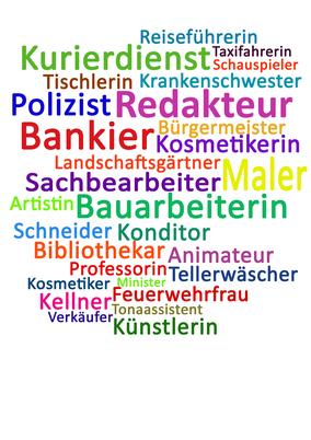 Einige Berufsbilder in Sprottenhausen