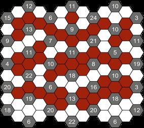 HexaLog © Rätselbüro Martin Simon