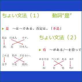 日本語と似ている中国語の語順をわかりやすく説明します