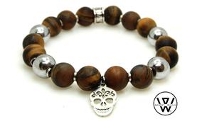 bracelet skull,bracelet tete de mort,skull,tete de mort,bracelet homme,bracelet homme perle,bracelet perle,men bracelet,men beads bracelet,sugar skull,bracelet,men skull,tattoo skull,bracelet fashion,bracelet homme tendance,tpmp,bracelet designer