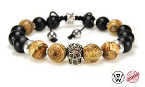 bracelet skull,bracelet homme skull,bracelet tete de mort,bracelet rock,karl who,bracelet,men bracelet,bracelet createur,bracelet designer,tete de mort bijoux,bracelet men,bracelet handmade,bijoux homme,bracelet homme tendance,bracelet homme argent,skull