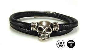 bracelet python homme,bracelet skull,bracelet tete de mort,bracelet cuir homme,bracelet createur,men bracelet,skull men bracelet,tatoo skull,bracelet tendance homme,tete de mort tatouage