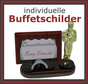 Kartenständer Buffet