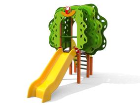 torre Baobab con scivolo, giochi per parco, giochi per parchi, attrezzature per parchi gioco, strutture ludiche Stileurbano Ciuffo Baobab certificati Norma EN1176 CATAS stileurbano oratorio FOM odielle abbiategrasso