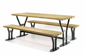 set tavolo panche