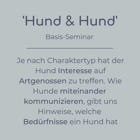 Basis-Seminar Hund & Hund