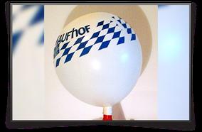 Ballon mit Aufdruck, Kaufhof
