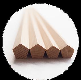 五角形の箸