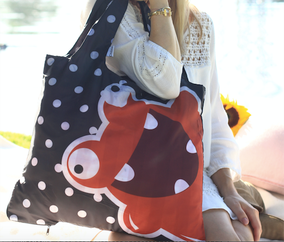 Chilino Tasche Freak präsentiert von weiblichen Model