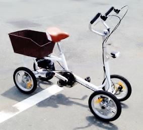 四輪自転車 固定式