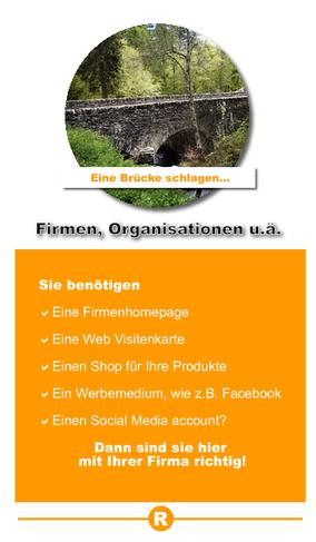 Homepages und Websites für Firmen, Vereine und Organisationen