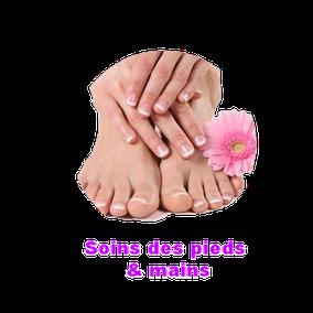 Soins pied et main de l'Institut Thalassa Beauté de Castrie - Hérault