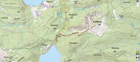 Quelle: AV Karte 4/3 Wetterstein und Mieminger Gebirge Ost
