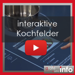 interaktives Kochfeld