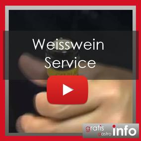 Weisswein Service