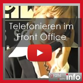 Telefonieren im Front Office