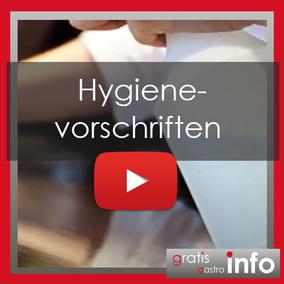 Hygienevorschriften Gastronomie