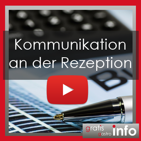 Kommunikation an der Rezeption