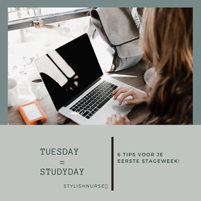 6 tips voor je eerste stageweek!