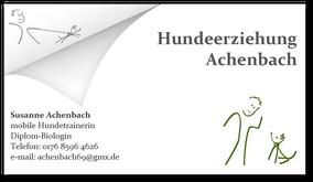 Mobile Hundeschule Achenbach Heidelberg Mannheim und Umgebung