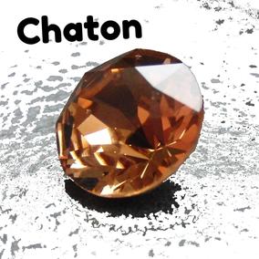 Chaton Schmuckstein Round Stone Swarovski Preciosa Maxima