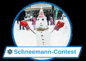 Wer ist der schönste Schneemann im ganzen Land? Das wird sich beim Schneemann-contest zeigen