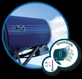 Schnee für alle Zwecke: Die SnowGUN Technologie